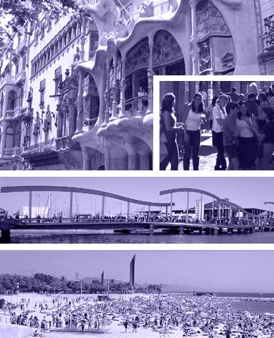 Grupperejser til Barcelona
