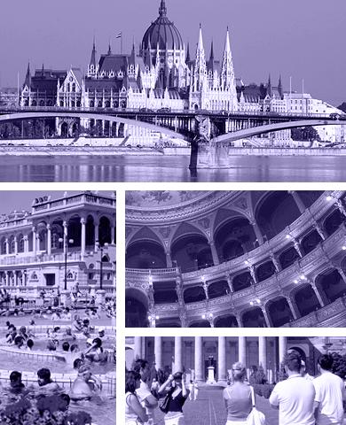 Grupperejser til Budapest