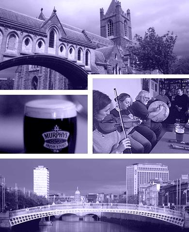 Grupperejser til Dublin
