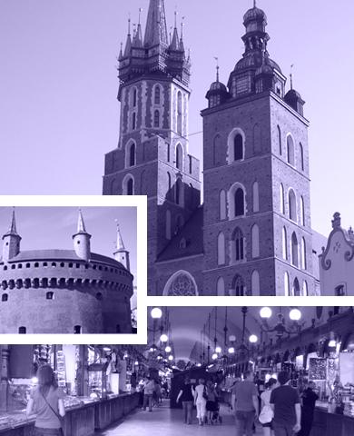 Grupperejser til Krakow