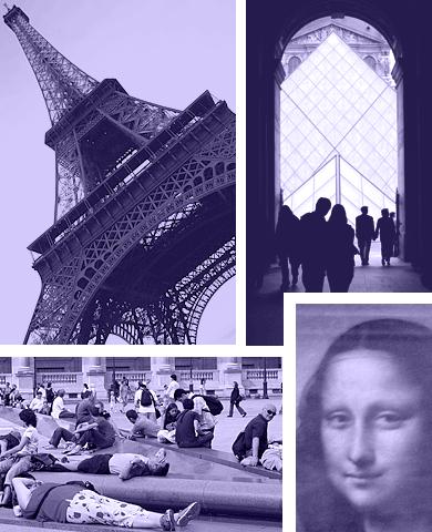 Grupperejser til Paris