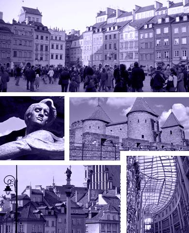 Grupperejser til Warszawa